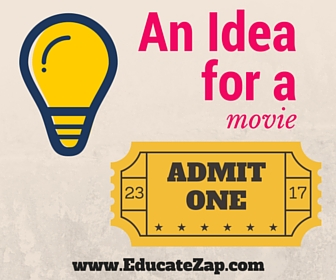 An Idea For A Movie Photo Image for Online Education