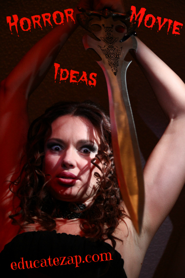 Scary Movie Ideas by Online Film School at EducateZap