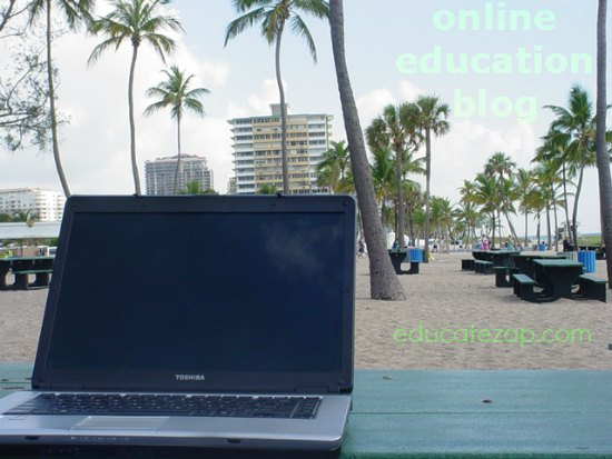 Online Education Blog is e-learning by the sea.