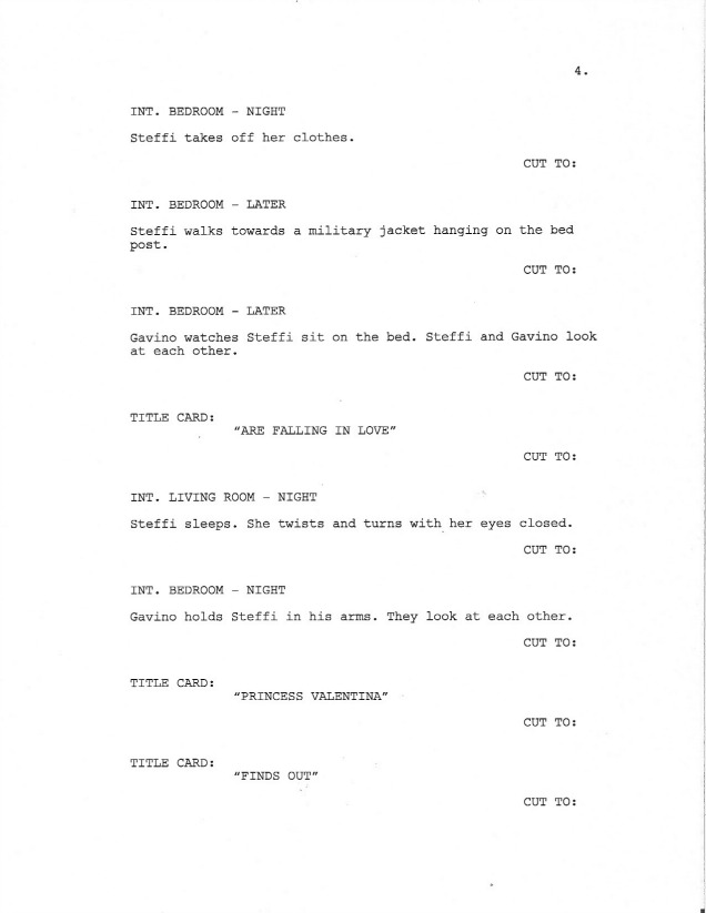 Sample Screenplay Page 4