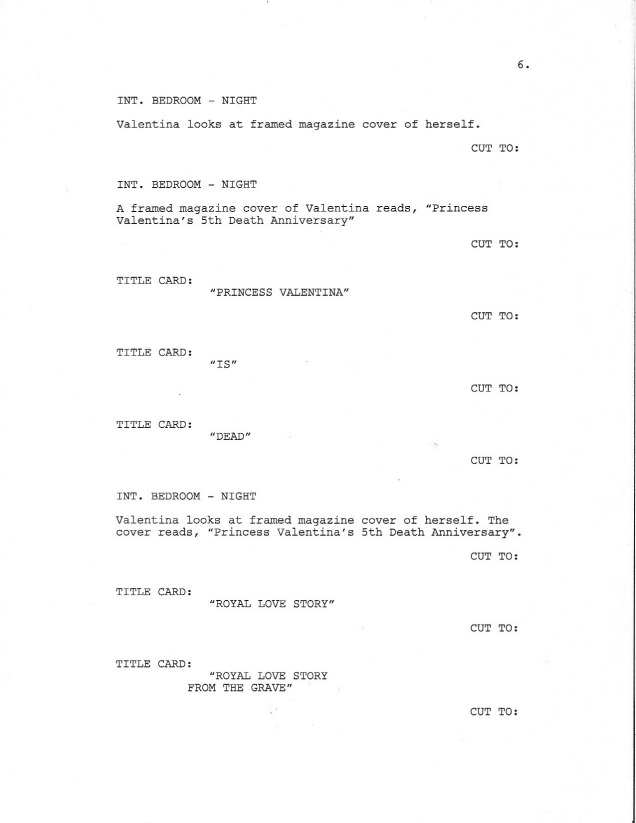 Sample Screenplay Page 6