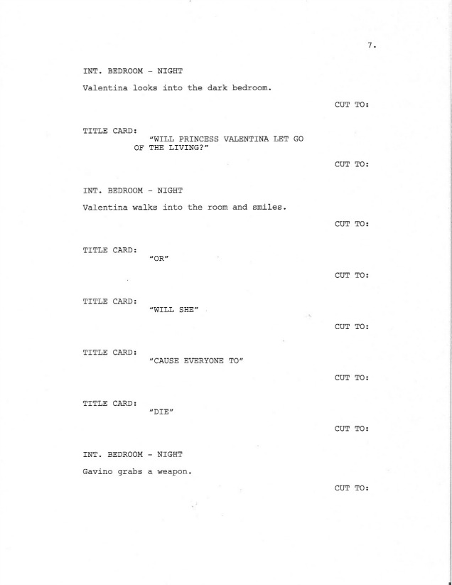 Sample Screenplay Page 7