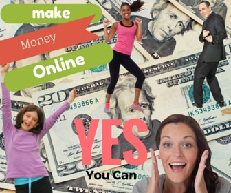 You Can Make Money Online Cash Image